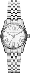 Michael Kors Lexington White Dial Stainless Steel Ladies