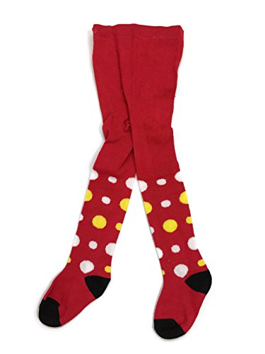 Rush Dance Girls or Boys Unisex Infant Baby Toddler Winter Footed Tights (6-12 Months Red ...