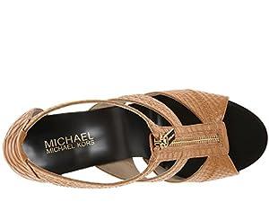 MICHAEL Michael Kors Berkley T Strap Peanut (7.5)