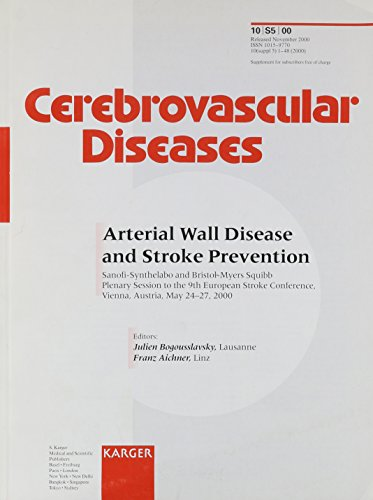 arterial-wall-disease-and-stroke-prevention-2000-supplement-issue-cerebrovascular-diseases-vol-10-su