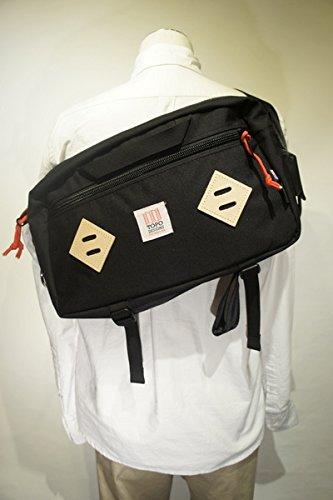 【TOPO DESIGNS】 MINI MOUNTAIN BAG -BLACK- トポデザインズ ミニマウンテンバッグ ブラック