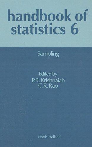 Handbook of Statistics 6: Sampling (Vol 6)