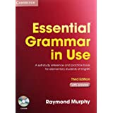 "Essential Grammar in Use 3rd Edition: Essential Grammar in Use. English Edition with answers and CD-ROM: A self-study reference and practice book for elementary students of Englishvon ""Raymond Murphy"""