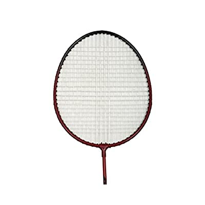 Tennex Badminton Set T222 - Iron Body With Full Transparant Cover - Red