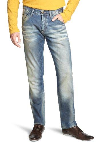 Energie Men's 9N7L00-Dy9048-L00V63/Feder Trousers 36 Straight Leg Jeans Blue (L00V63) 33/36