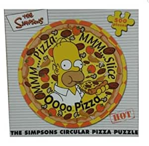 The Simpsons - Pizza 500 Piece Jigsaw Puzzle