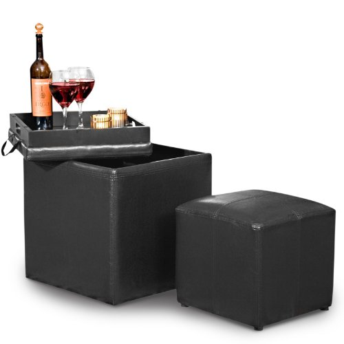 A Jameson Single Storage Ottoman