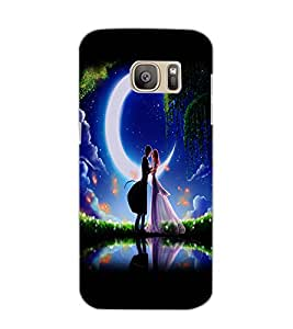 SAMSUNG GALAXY S7 EDGE COUPLE Back Cover by PRINTSWAG