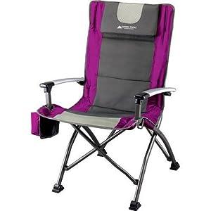 Ozark Trail Ultra High Back Folding Quad Camp Chair by Ozark Trail