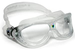 Aqua Sphere Seal Mask - Kid Size - Lens: Clear; Frame: Clear