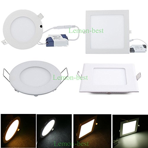 Super Bargain!!! New Model!! Led Dimmable Ceiling Lamp 6W 9W 12W 15W 18W 21W Recessed Downlight Bulb Spotligh, Home