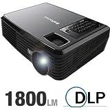 InFocus X9 - DLP projector - 1800 ANSI lumens - 1280 x 720 - widescreen - High Definition 720p