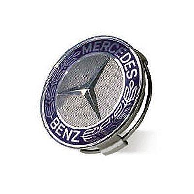Mercedes benz blue classic logo wheel center cap vehicles for Mercedes benz center caps