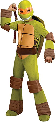 Teenage Mutant Ninja Turtles Deluxe Michelangelo Costume Toddler 1-2