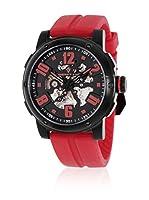 Christian Van Sant Reloj Cv6132 Skeleton Rojo 44  mm