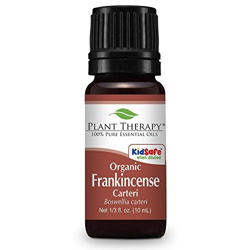 Oragnic Frankincense carteri Essential Oil. 10 ml. 100% Pure, Undiluted, Therapeutic Grade.