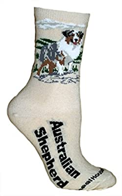 Ultra Lightweight Cotton Dog Breed Crew Socks