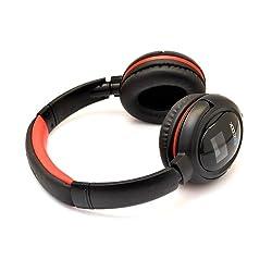 Zoook ZB-BHP110L Bluetooth Headphone (Red & Black))