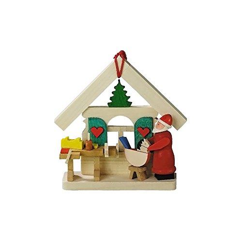 """4142 – Graupner Ornament – Santa's Workshop – 3″""""H x 3″""""W x 1″""""D"""