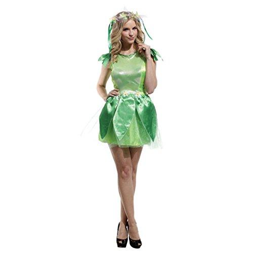 Shanghai Story Women's Green Elf Disfraces Genie Fairy Costumes