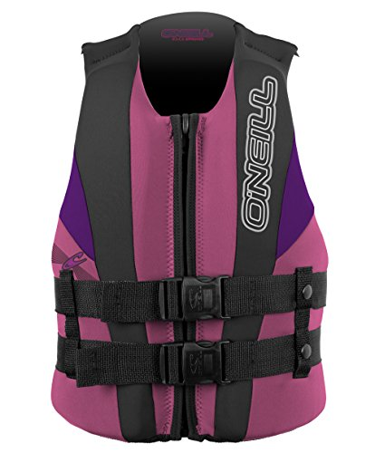 O'Neill Kids Unisex Child USCG Vest (Toddler/Little Kids) Pet/Coal/UV Life Vest One Size
