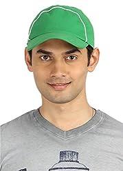 Campus Sutra Men's Cap ( CS_CP_M_PLN_LGRE _ Light Green )