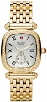 Michele Caber Isle Mother of Pearl Dial Gold Plated Stainless Steel Ladies Watch MWW16C000008