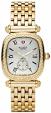 Michele Caber Isle Mother of Pearl Dial Gold Plated Stainless