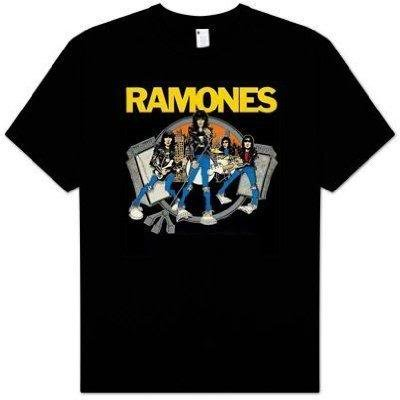 Ramones Road To Ruin black t-shirt (X-Large)
