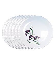 Ruchi Houseware Fiesta Serving Plates 10.5 (Random Print)