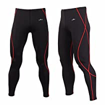 D10 Compression Tight Tight Pants Compression Base Layer Running Pants Men Women S ~ Xl (M)