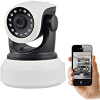 IP Camera Sokos HD 720P Wireless WiFi Security Camera Night Vision Surveillance Camera Bulit In Microphone With...