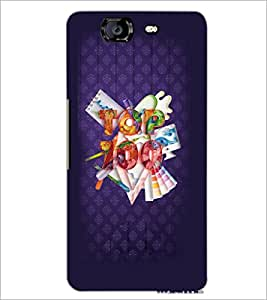 PrintDhaba Quote D-3769 Back Case Cover for MICROMAX A350 CANVAS KNIGHT (Multi-Coloured)