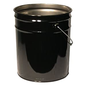 Amazon.com - Pails - 5 gallon 28x26 steel open head pail - Compost