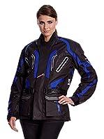 Roleff Racewear Chaqueta Moto (Negro / Azul)