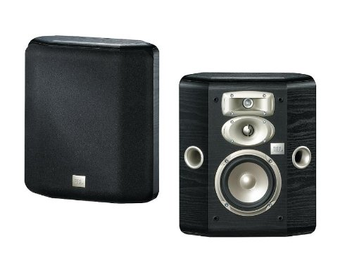 "Jbl L810 3-Way High Performance 5.25"" Wall-Mountable Bookshelf Loudspeaker - Black (Pair)"