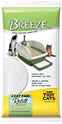 Tidy Cats Breeze Cat Pads (4 per pack, 10 packs = 40 pads)
