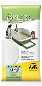 Tidy Cats Cat Litter, Breeze, Litter Pellet Refill, 3.5-Pound Refill, Pack of 6