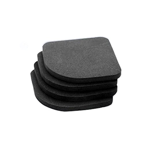 CozyCabin Washing Machine Dryer Anti-Vibration and Anti-walk Silent Feet Washer Pads - 4 packs (Washer Vibration Mat compare prices)