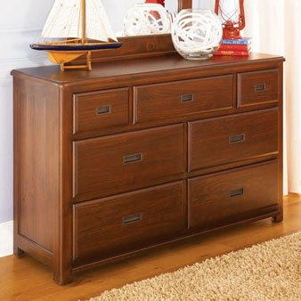 Cheap Lea Kids Dillon 7 Drawer Dresser (906-271, 906-030)