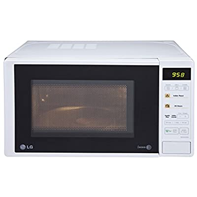 LG MH2043DW 20-Litre Grill Microwave Oven (White)