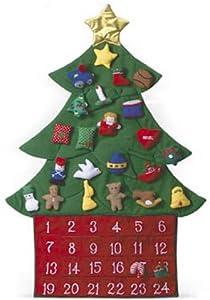 #!Cheap Oh Christmas Tree Fabric Advent Calendar