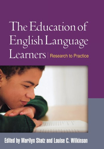 The Education of English Language Learners: Research to...
