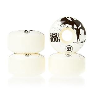 Buy Bones 100's Original 52mm Natural Skateboard Wheels (Set of 4) by Bones