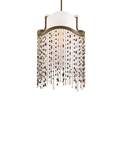 Progress Lighting Dance 3-Light Foyer Pendant, Desert Sand