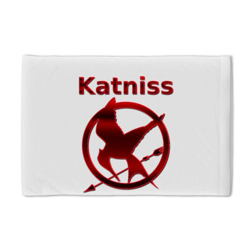 The Hunger Games Pillow Case by CafePress - White