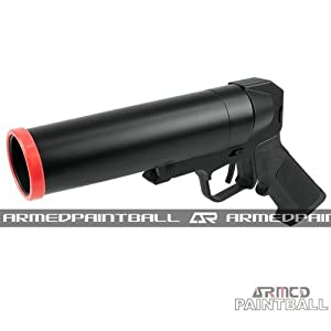 Click here to buy 40mm Paintball Pistol Grenade Launcher (Long) by A-R.