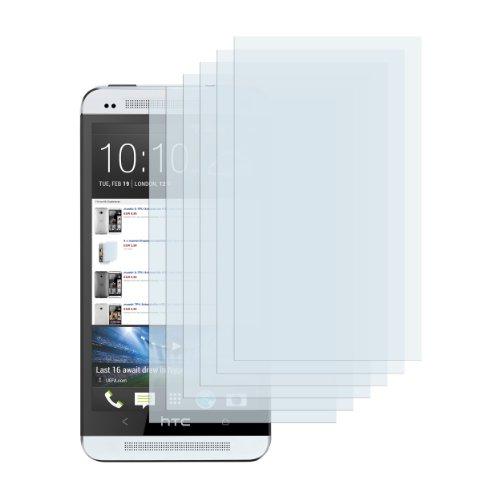 6 x mumbi Displayschutzfolie HTC One Schutzfolie (NICHT HTC One X X+ S SV V etc.)