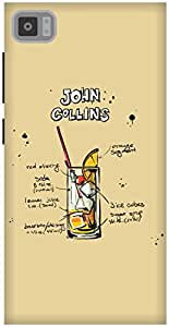The Racoon Grip Cream John Collins hard plastic printed back case / cover for Xiaomi Mi3