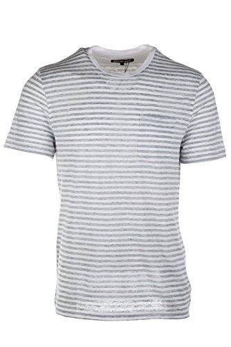 Michael Kors t-shirt maglia maniche corte girocollo uomo bianco EU M (UK 38) CS65FY01WL100